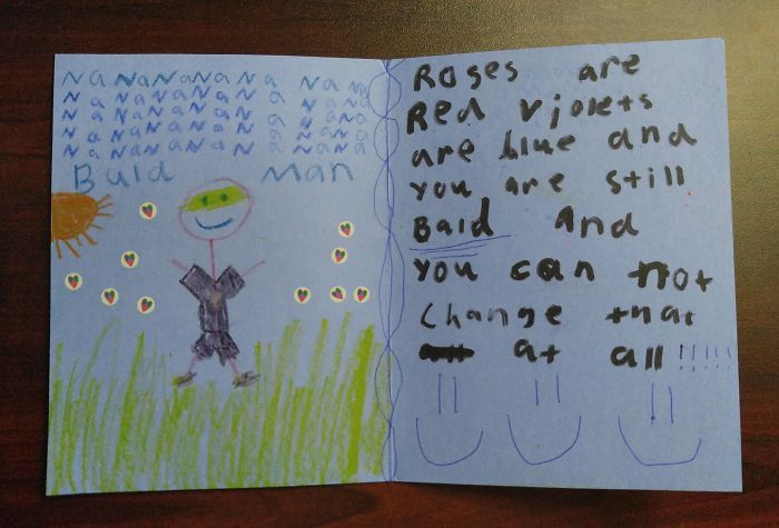 16 My Young Niece And I Send Each Other Funny Cards In The Mail Sometimes Her Latest e Really Cut Me Deep