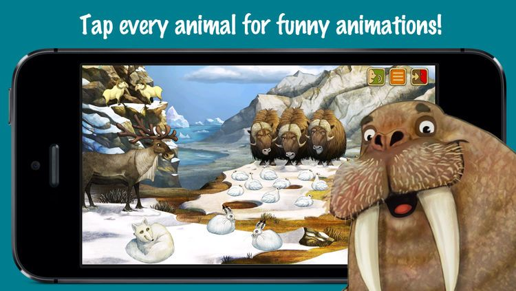 North Pole Animal Adventures for Kids screenshot 1