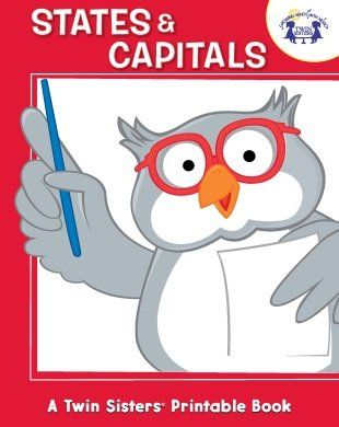States & Capitals Activity Book