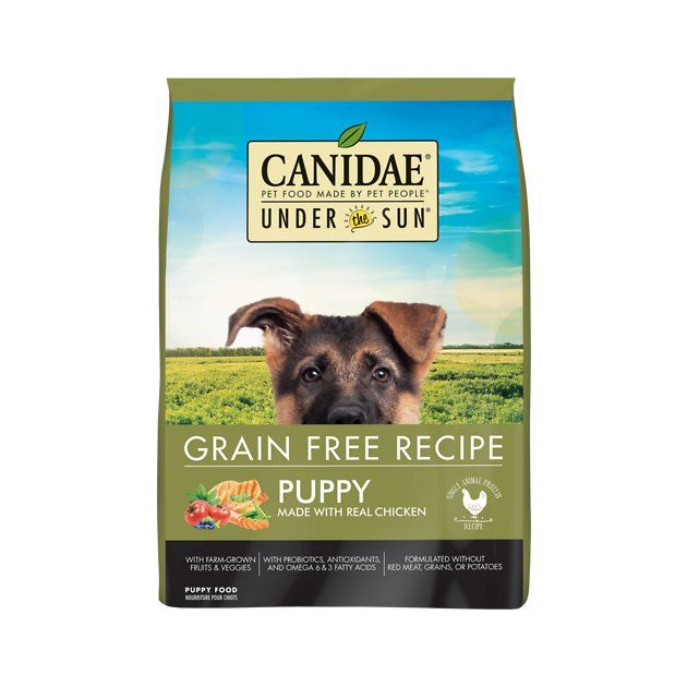 Under the Sun Grain Free Chicken Recipe Puppy Dry Dog Food 25 lb bag Chewy
