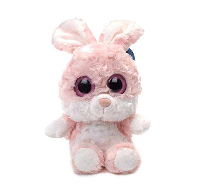 Amazon WILDREAM Bunny Plush Toy Sparkle Big Eyes and Charming Smile Toys & Games
