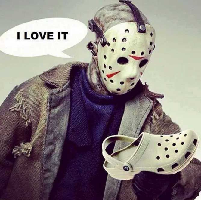 Friday the 13th My advice is to stay away from black cats wearing hockey masks and don t talk to old guys holding bloody knives trying to seduce you