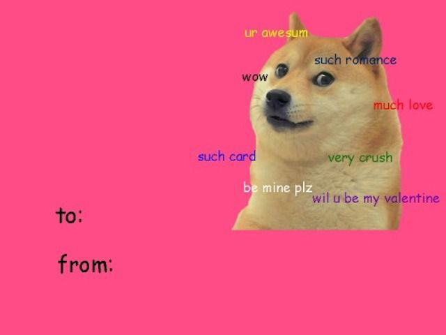Doge Is the Cutest Valentine