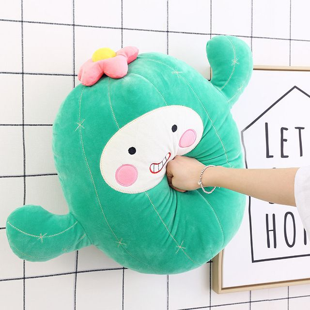 Creative cactus doll plush toy cute Korean pillow simulation ball cactus funny dolls for girls ts 24inch 60cm