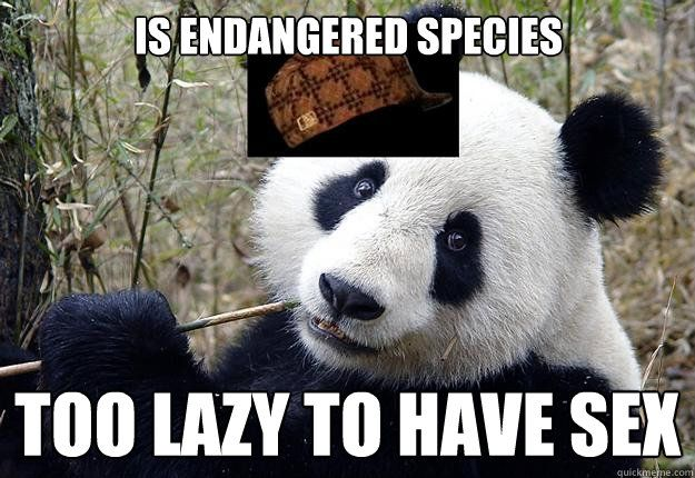 Is Endangered Species Too Lazy To Have