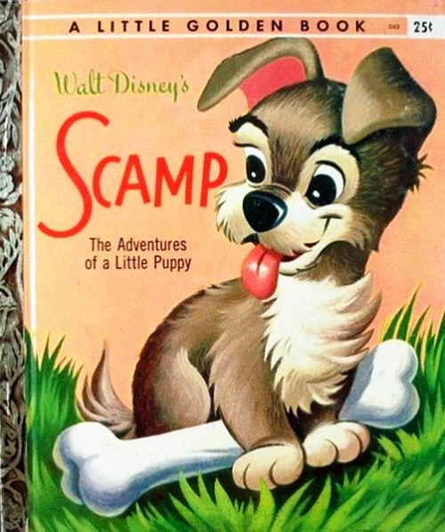 Scamp omg I had this book when I was little