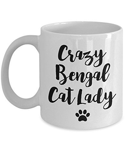 Bengal Cat Mug – Crazy Cat Lady – Funny Cat Lover Coffee Cup Gift 11