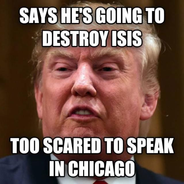HELL NO TO DONALD TRUMP