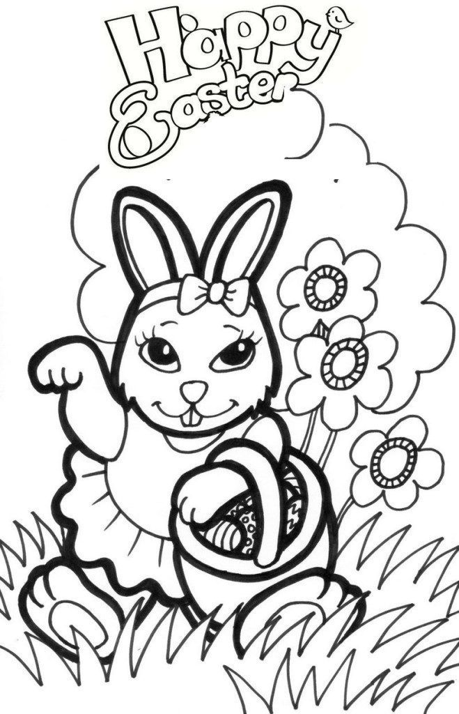 Easter Bunny Coloring Pages Elegant Pretty Girl Easter Bunny Coloring Sheets Easter Bunny Coloring Pages
