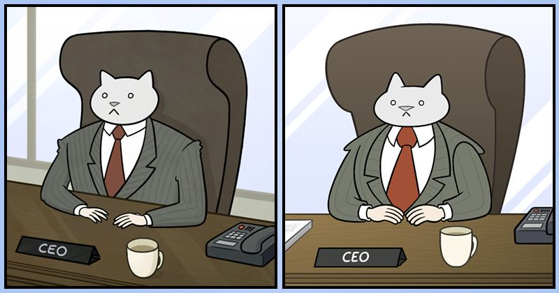 Four years ago I uploaded the first Business Cat strip and was awoken in the dead of the night to find my phone going crazy with an endless stream of