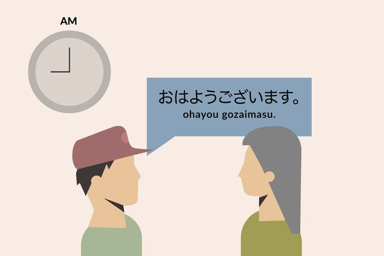 Good Morning and Other mon Japanese Greetings