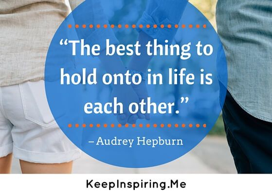 relationship quotes audrey hepburn