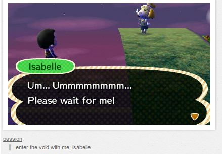 10 Game Glitches Discussed By Tumblr 10 Game Glitches Discussed By Tumblr Animal Crossing Funny