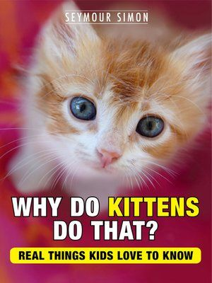 cover image of Why Do Kittens Do That
