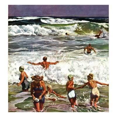 john falter surf swimming august 14 1948 u L PDWAE10