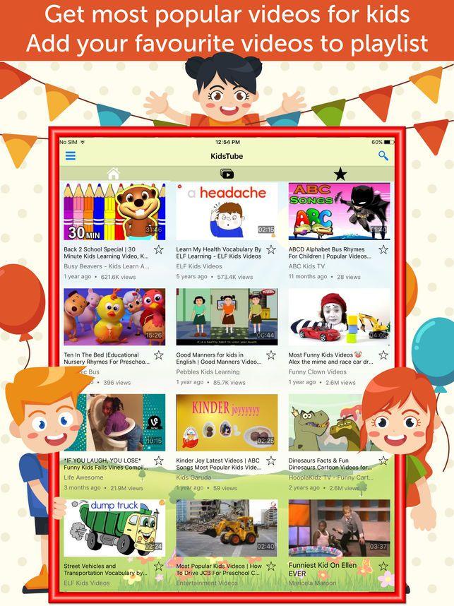 Kids Tube Alphabet & abc Videos for Kids on the App Store