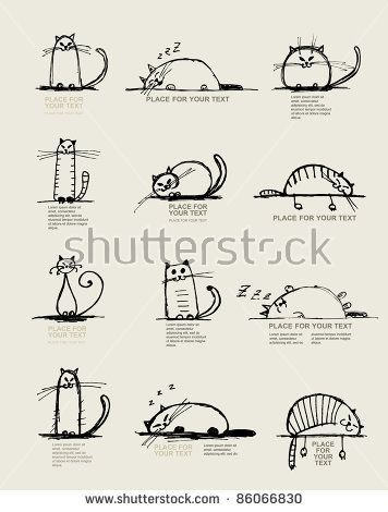 Cartoon cat free vector 13 942 Free vector for mercial use format ai eps cdr svg vector illustration graphic art design