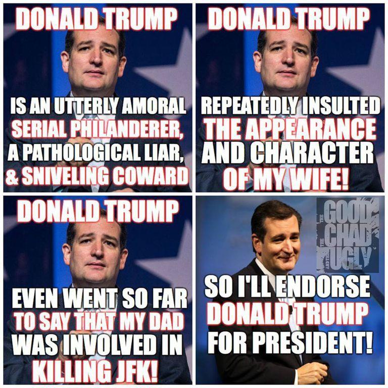 Cruz Endorses Trump
