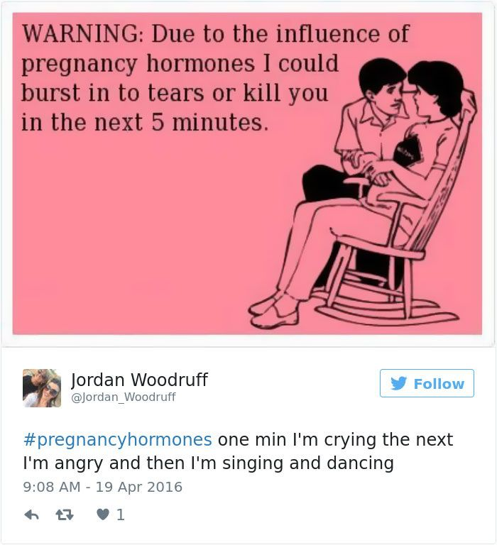 Funny relatable pregnancy tweets