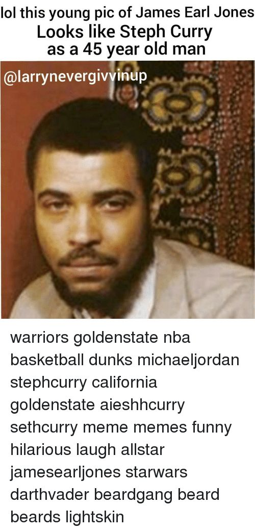 Beard Dunk and Memes this young pic of James Earl Jones Looks
