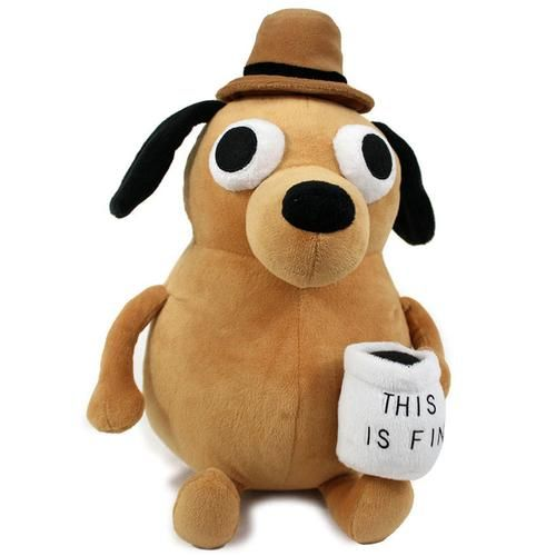 This is Fine Plush Dog