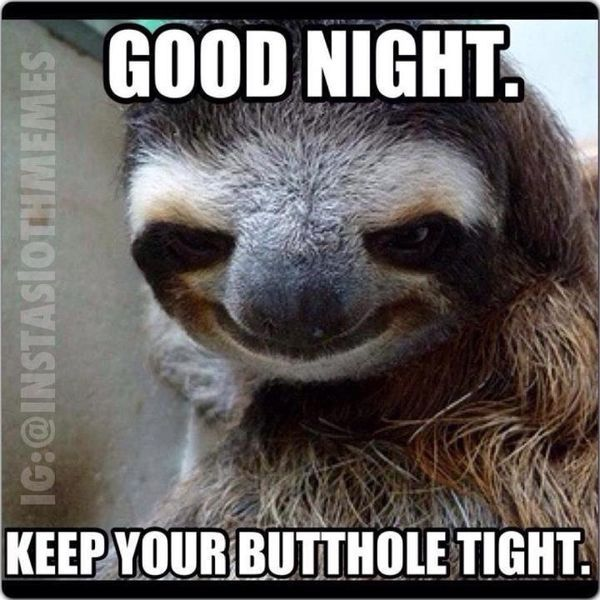 Funny Goodnight Memes for Him