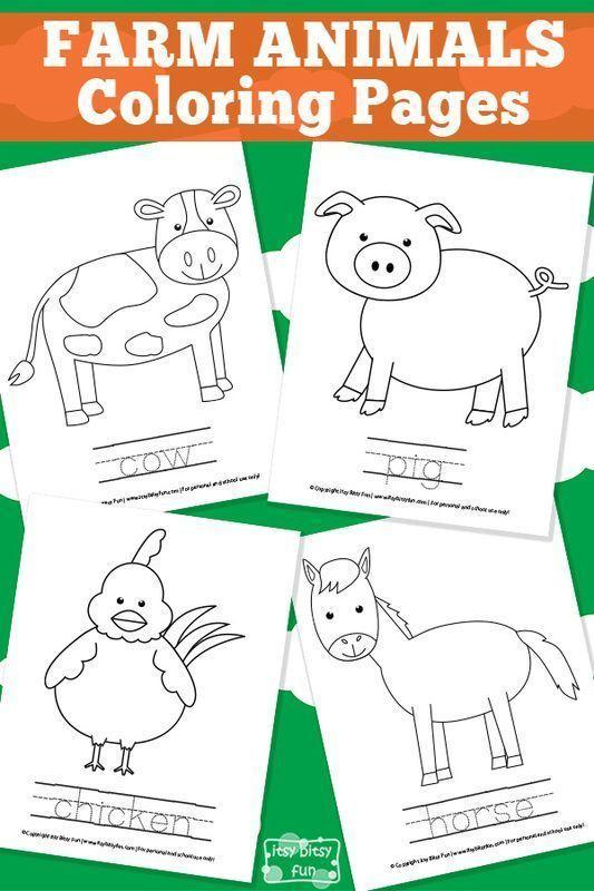 Farm Coloring Pages Elegant Farm Animal Coloring Pages Kids Farm Coloring Pages Unique Free Farm
