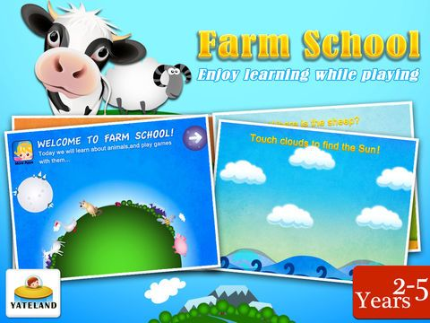 Screenshot 1 for Farm School Fun animal games for baby