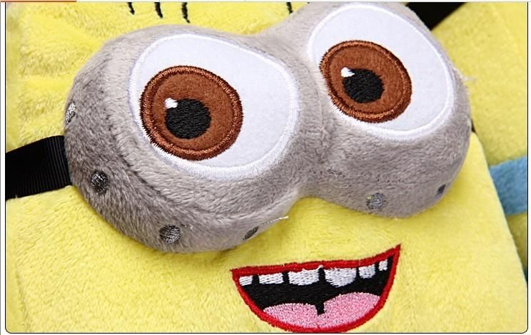 Minion Slipper Audlt Plush Stuffed Funny Ciabatte Minions Jorge Animal Warm Winter Home Slippers Women Men