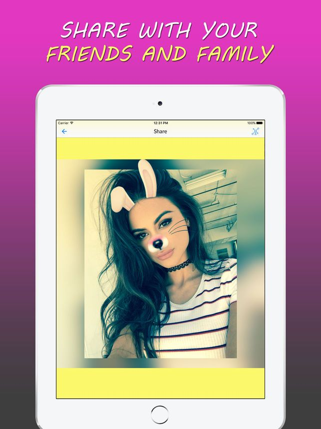 Fun Face Filters Effects Editor 4