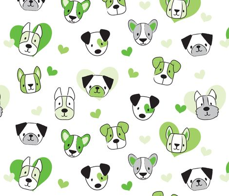 Pups Green shop preview