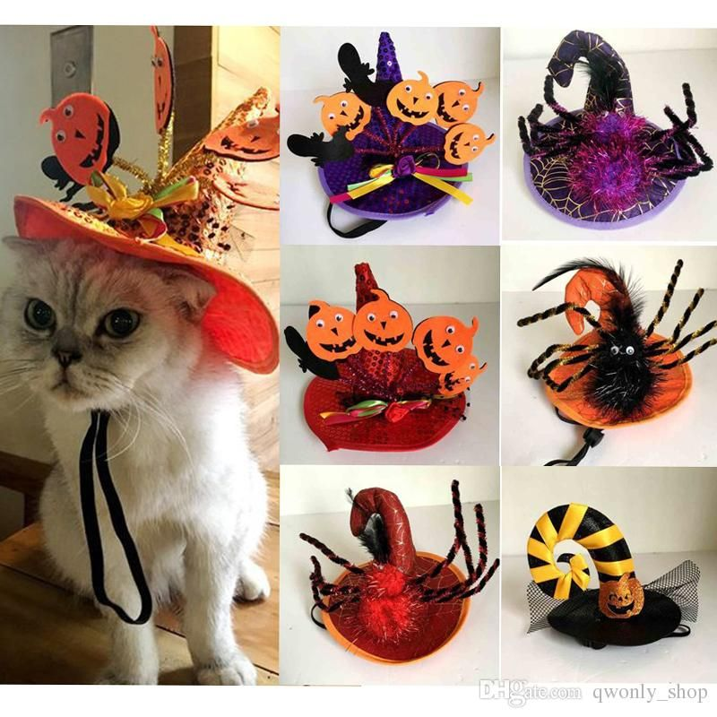 Funny Cats Cosplay Costume Halloween Pet Hat Cat Bat Costume Fit Party Dogs Cats Playing Pet Accessories 7 Styles Kitty Cat Costumes For Women Kitty Cat