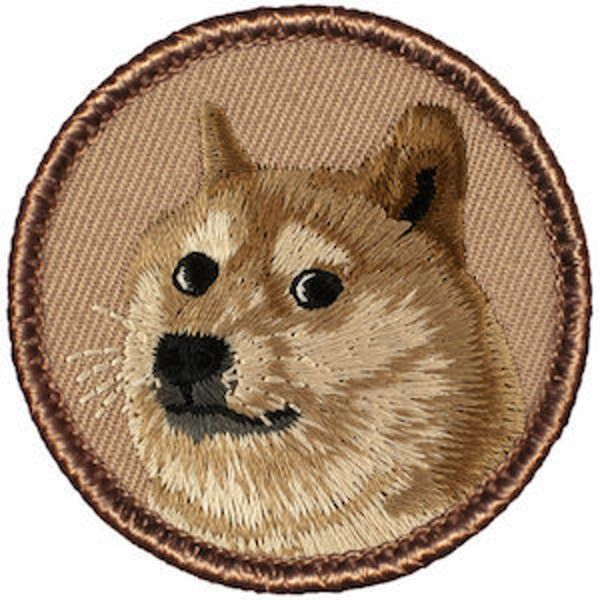 Doge might not be the freshest meme but there s nothing more endearing than a patch with the pooch on a worn in denim jacket And for those unfamiliar with