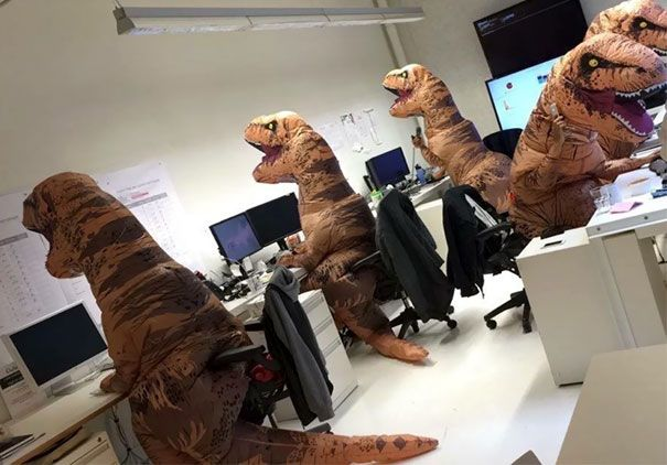 2 Paleontology Department Halloween