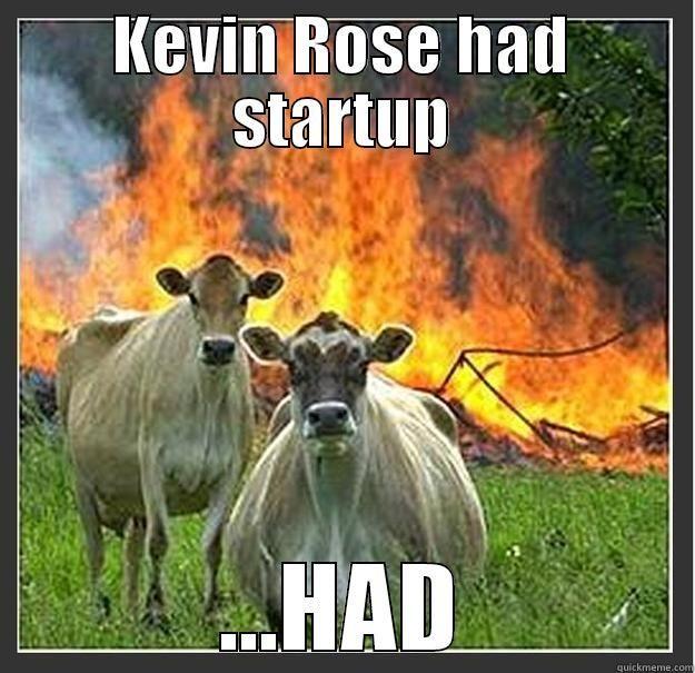 kevin rose start up