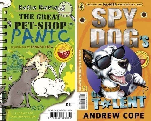 Spy Dog s Got Talent the Great Pet shop Panic World Book Day by Andr x for sale online