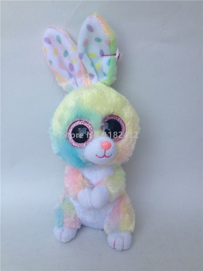 Plush Animals Rabbit Bunny Bloom Twinkle Toes Carrots Cute Stuffed Animal With Big Eyes Baby Girls Toys for Children Kids Gifts
