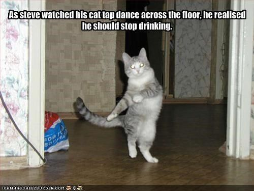 dancing drunk