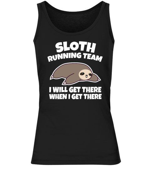 Sloth Running Team Tank Top