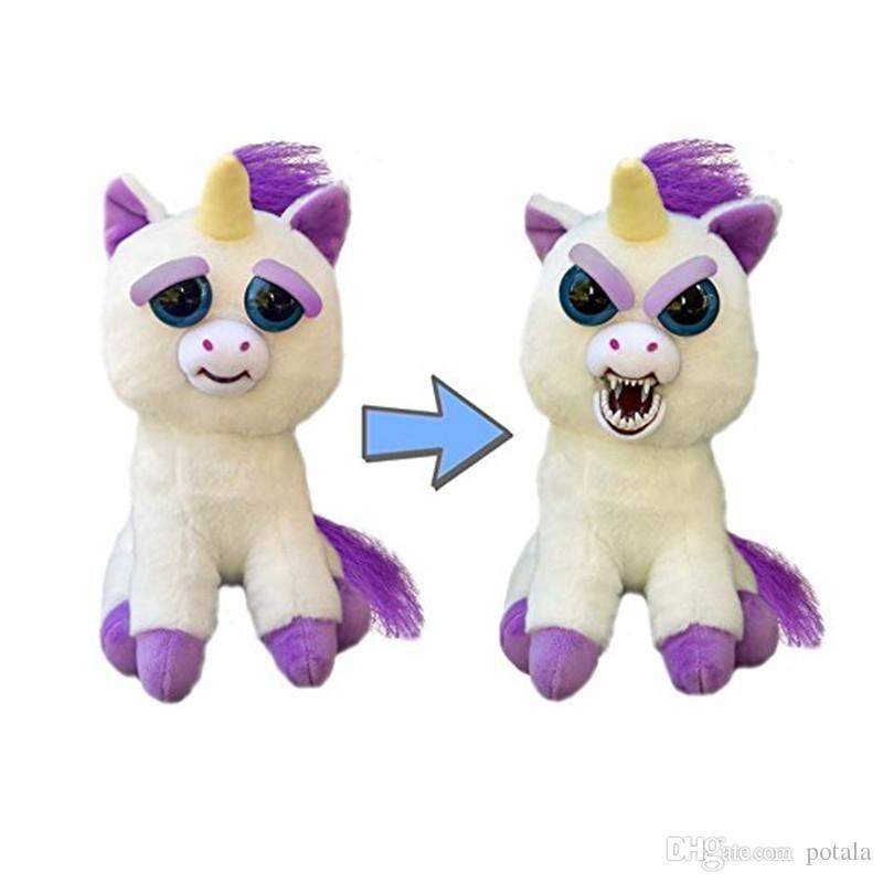2019 Feisty Pets 22cm Unicorns William Mark Panda Rainbowbarf Rabbit Dog Monkey Grandmaster Funk Plush Toys Stuffed Dorimytrader Snarl Adorable From Potala