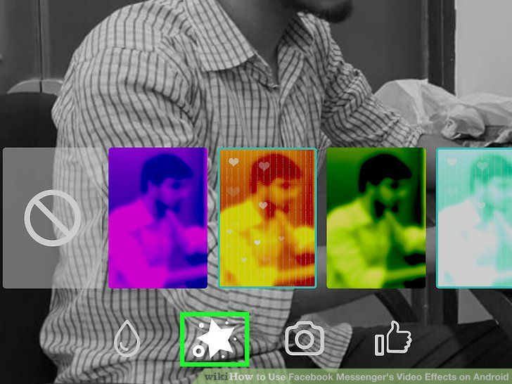Image titled Use Messenger s Video Effects on Android Step 6