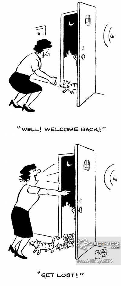 Wel e Home cartoon 25 of 26