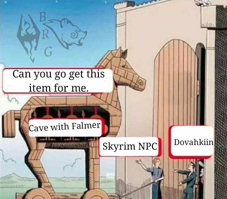Lmao omgosh 😂😂 Video Game Memes Video Game Art Skyrim Funny Elder