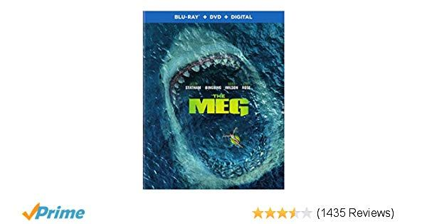 Amazon Meg The BD [Blu ray] Jon Turtletaub Jason Statham Bingbing Li Rainn Wilson Ruby Rose Winston Chao Page Kennedy Jessica McNamee