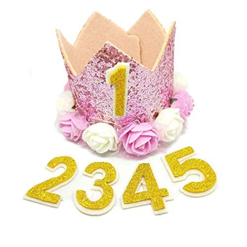 PET SHOW Crown Dog Birthday Hat for Pets Reusable Birthday Party Cat kitten Headband hats with
