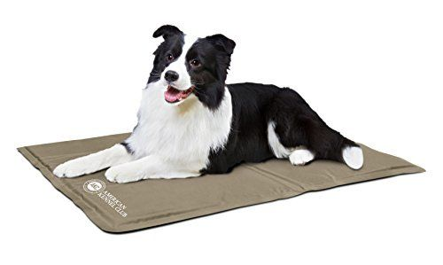 This ultra durable cooling pad is great for use indoors or outdoors It s also perfect for traveling since it s easy to fold water resistant and dirt
