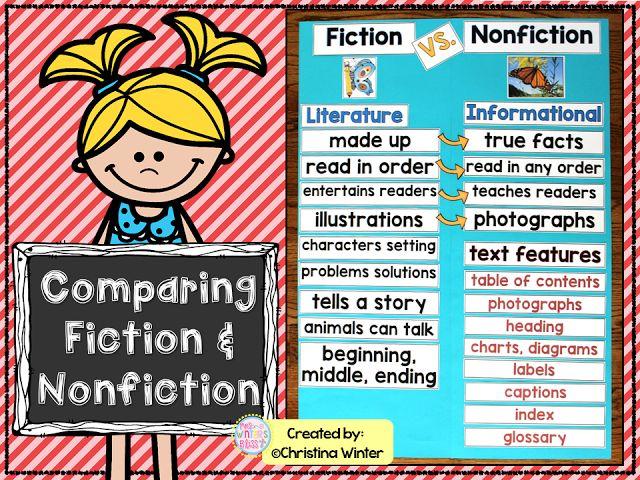 paring fiction and nonfiction