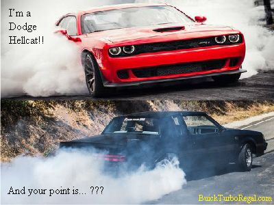 Was funny when hellcat busted a nut on corvette sad that 400x300 Funny hellcat meme