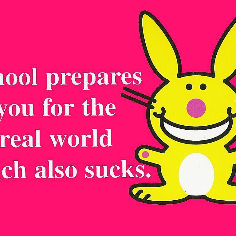 happy bunny school 58b8c3b25f9b58af5c8a9431