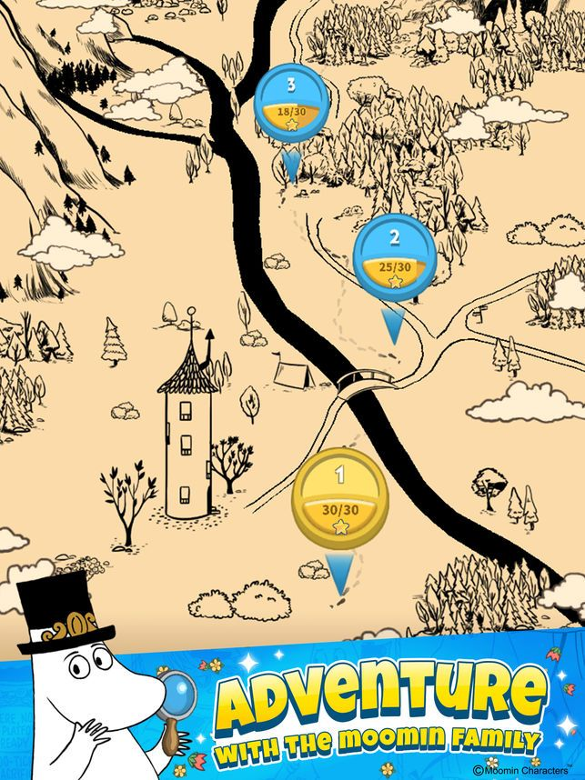 Moomin Match and Explore on the App Store